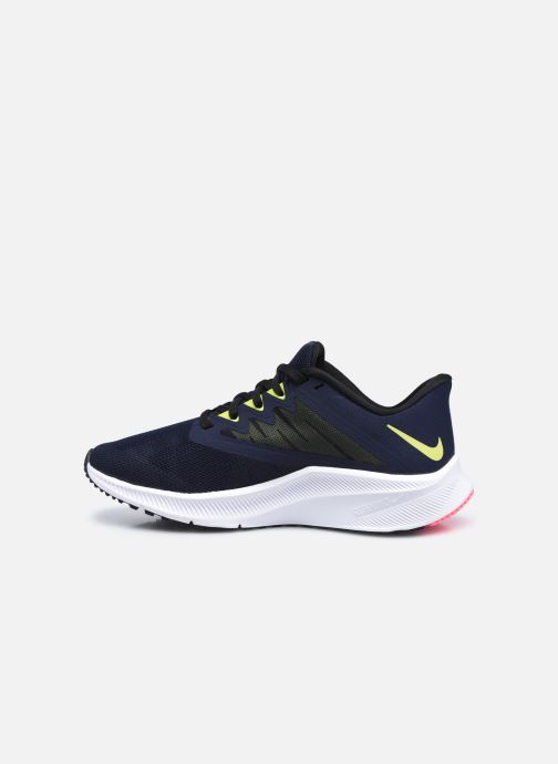 Baskets Nike Wmns Nike Quest 3 Bleu vue face