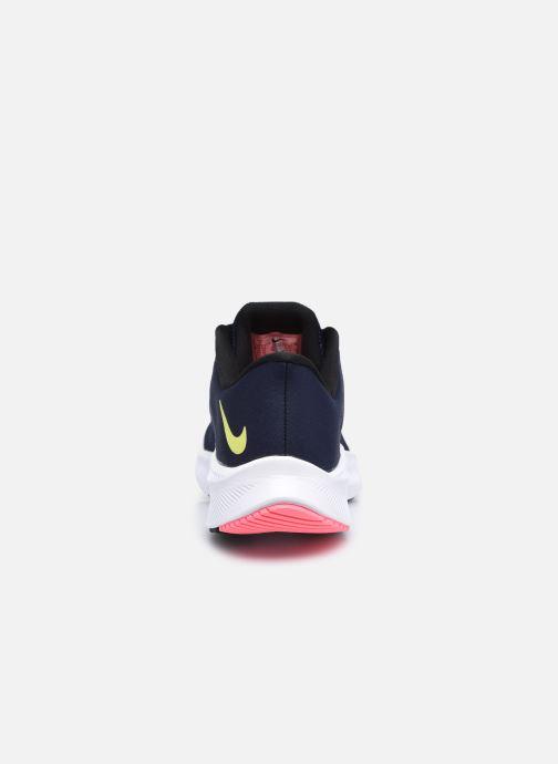 Baskets Nike Wmns Nike Quest 3 Bleu vue droite