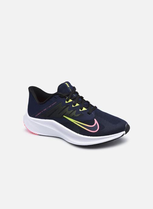Baskets Nike Wmns Nike Quest 3 Bleu vue détail/paire