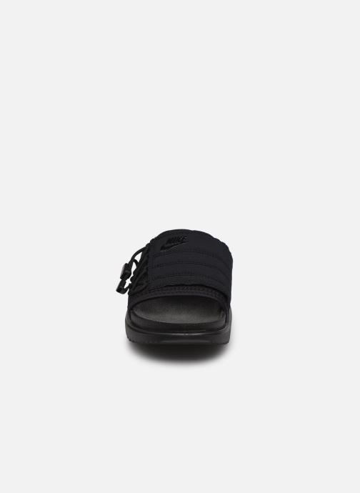 Clogs & Pantoletten Nike Wmns Nike Asuna Slide schwarz schuhe getragen