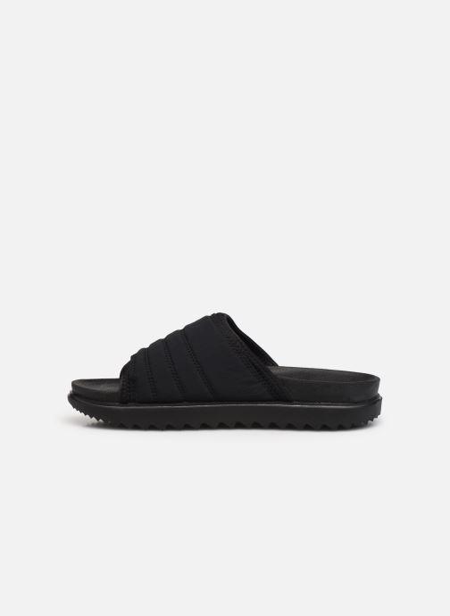 Clogs & Pantoletten Nike Wmns Nike Asuna Slide schwarz ansicht von vorne
