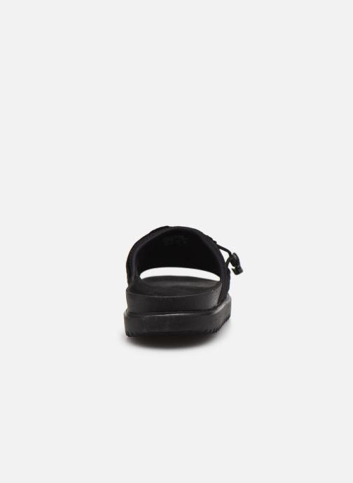 Clogs & Pantoletten Nike Wmns Nike Asuna Slide schwarz ansicht von rechts