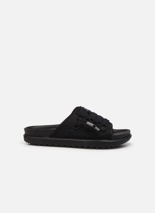 Clogs & Pantoletten Nike Wmns Nike Asuna Slide schwarz ansicht von hinten