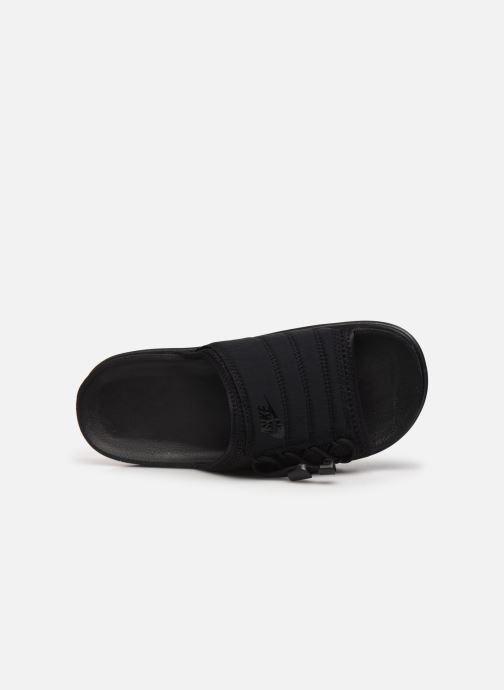Clogs & Pantoletten Nike Wmns Nike Asuna Slide schwarz ansicht von links