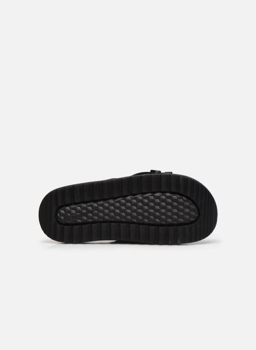Clogs & Pantoletten Nike Wmns Nike Asuna Slide schwarz ansicht von oben