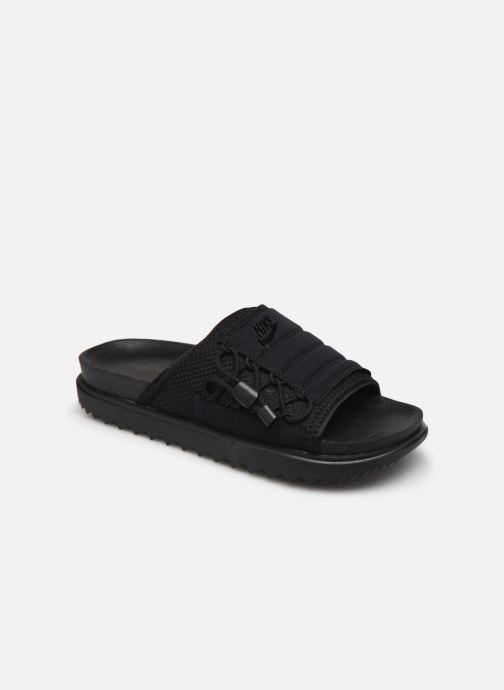 Clogs & Pantoletten Nike Wmns Nike Asuna Slide schwarz detaillierte ansicht/modell
