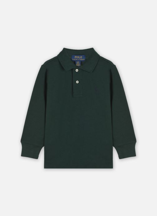 Ropa Polo Ralph Lauren LS KC-TOPS-KNIT Verde vista de detalle / par