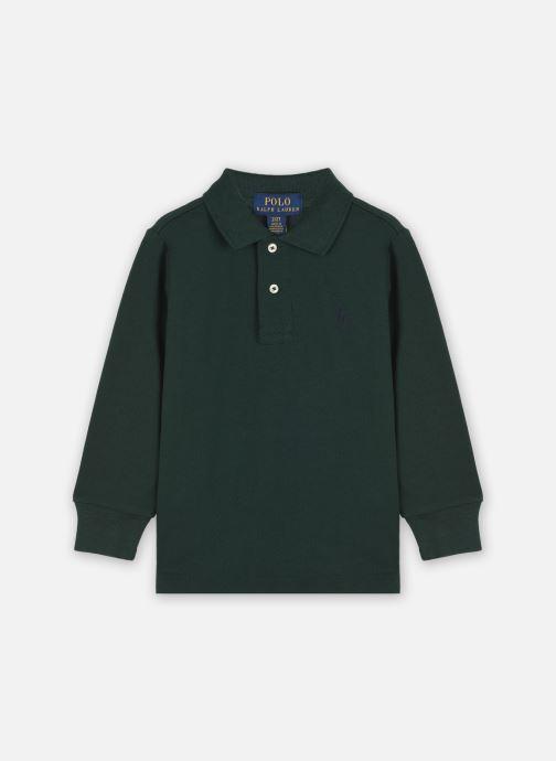 Vêtements Polo Ralph Lauren LS KC-TOPS-KNIT Vert vue détail/paire