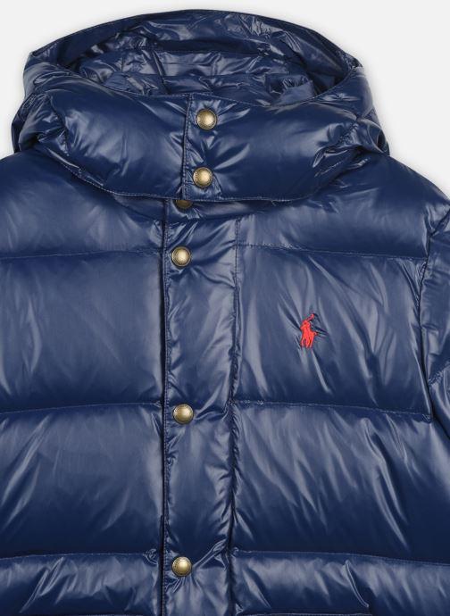 Kleding Polo Ralph Lauren Hawthorne-Outerwear-Jacket Blauw voorkant