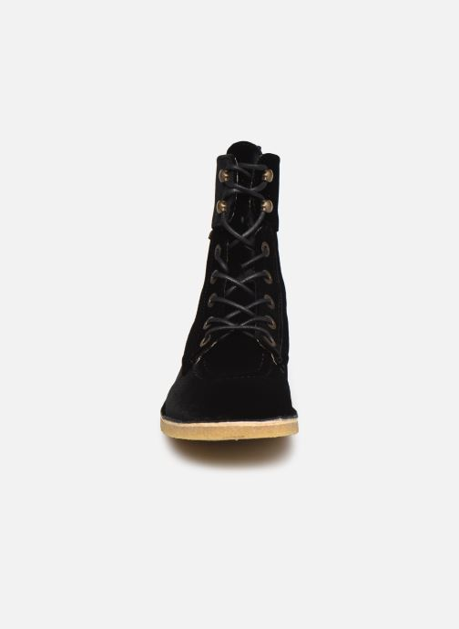 Bottines et boots Kickers Kick Range Noir vue portées chaussures
