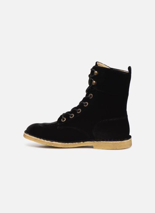 Bottines et boots Kickers Kick Range Noir vue face