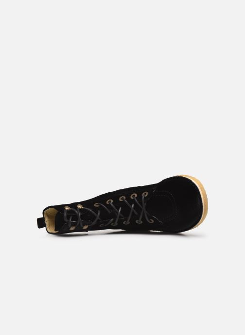 Bottines et boots Kickers Kick Range Noir vue gauche