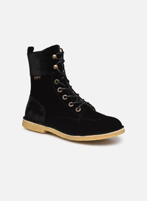 Bottines et boots Kickers Kick Range Noir vue détail/paire