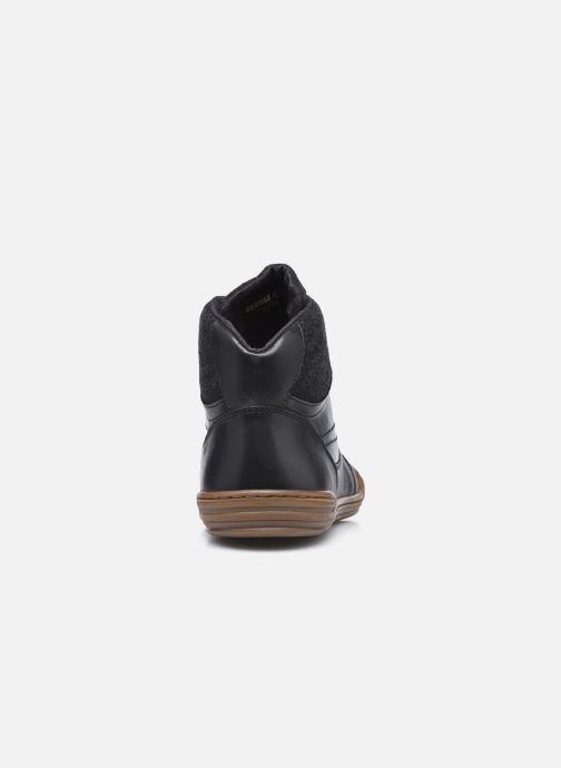 Sneakers Kickers Jirofare Hi Nero immagine destra