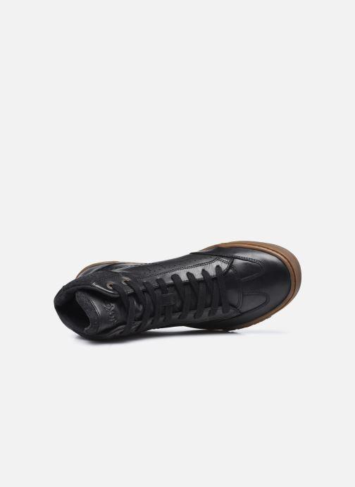 Sneakers Kickers Jirofare Hi Nero immagine sinistra