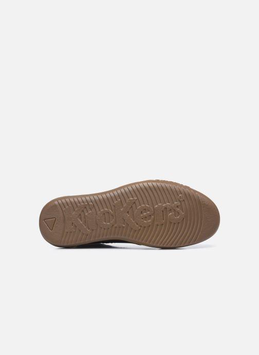 Sneakers Kickers Jirofare Hi Nero immagine dall'alto