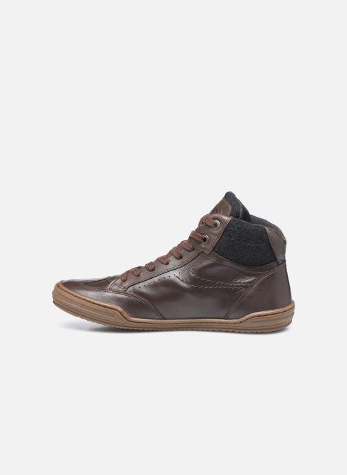 Sneakers Kickers Jirofare Hi Marrone immagine frontale