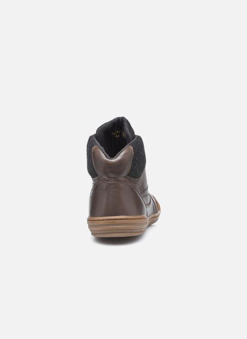 Sneakers Kickers Jirofare Hi Marrone immagine destra