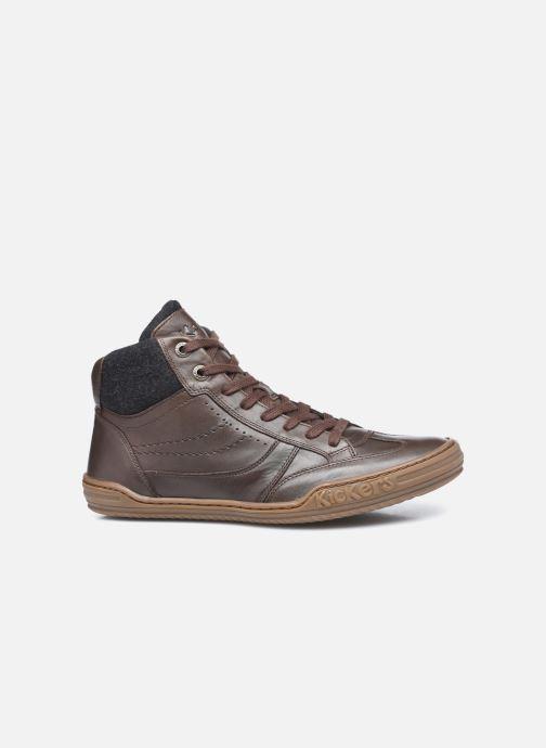 Sneakers Kickers Jirofare Hi Marrone immagine posteriore