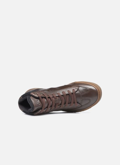 Sneakers Kickers Jirofare Hi Marrone immagine sinistra