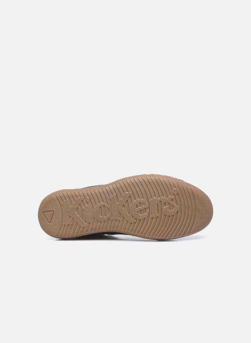 Sneakers Kickers Jirofare Hi Marrone immagine dall'alto