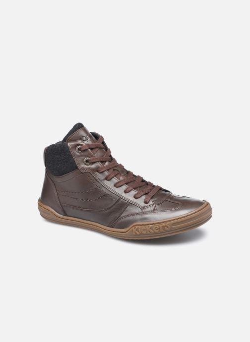 Sneakers Kickers Jirofare Hi Marrone vedi dettaglio/paio