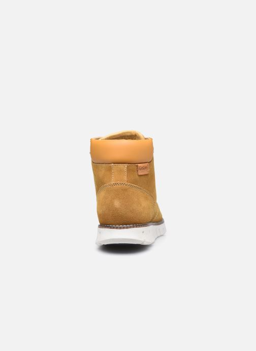 Sneakers Kickers Kicktaina Marrone immagine destra