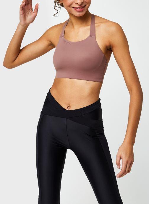 Vêtements Nike Nike Swoosh Luxe Bra Ll Rose vue détail/paire