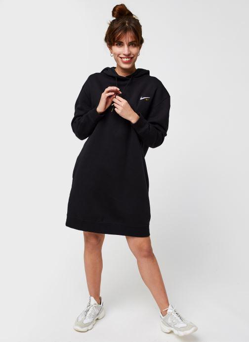 Vêtements Nike W Nsw Hoodie Po Dress Noir vue bas / vue portée sac
