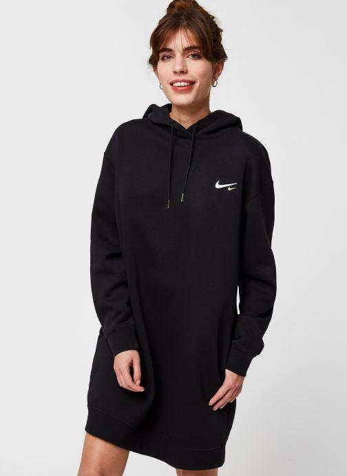 Vêtements Nike W Nsw Hoodie Po Dress Noir vue droite