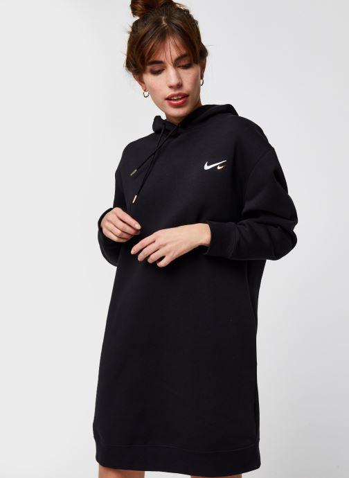 Vêtements Nike W Nsw Hoodie Po Dress Noir vue détail/paire