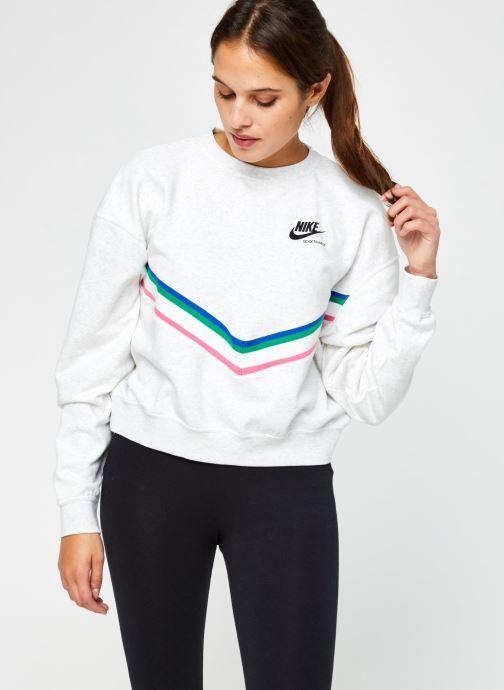 Sweatshirt - W Nsw Hrtg Crew Flc