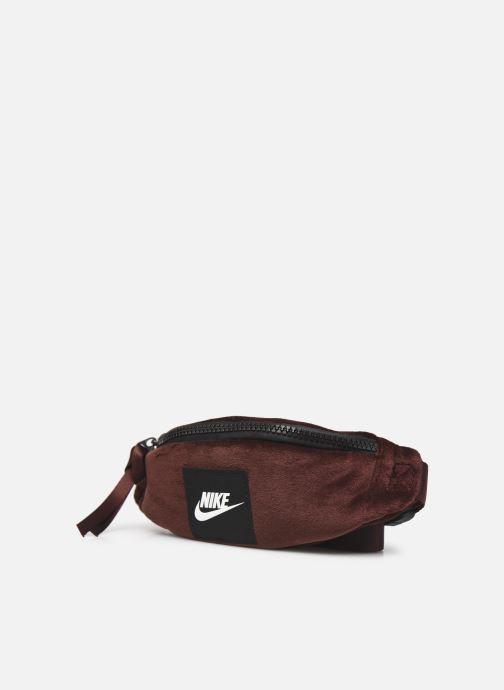 Bolsos de mano Nike Nk Heritage Hip Pack - Wntrzd Rojo vista del modelo