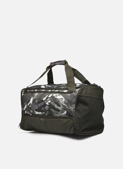 Sporttaschen Nike Nk Brsla M Duff-9.0 Aop 2 Su20 grün schuhe getragen