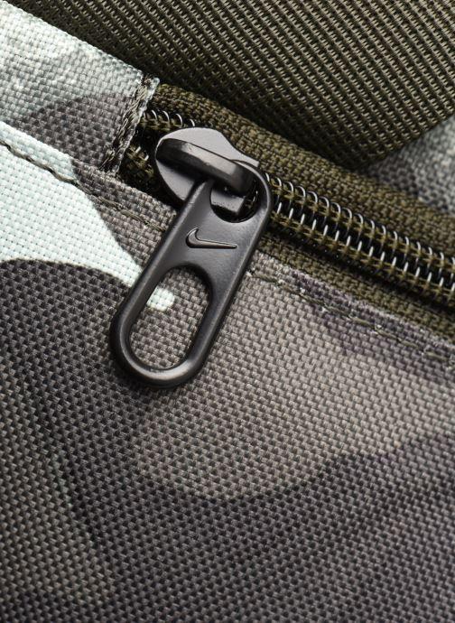 Sporttaschen Nike Nk Brsla M Duff-9.0 Aop 2 Su20 grün ansicht von links