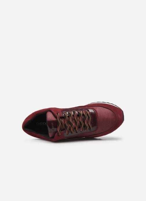 Sneakers Geox D Aneko B Abx A D943FA Bordò immagine sinistra