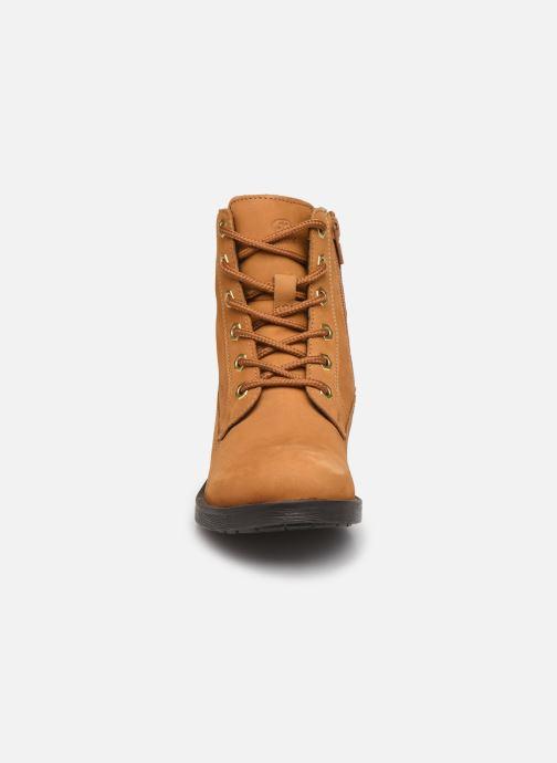 Bottines et boots Geox D Rawelle B D946RB Jaune vue portées chaussures