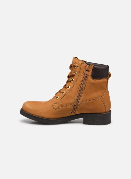 Bottines et boots Geox D Rawelle B D946RB Jaune vue face