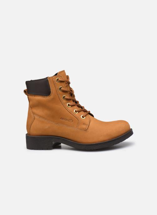 Bottines et boots Geox D Rawelle B D946RB Jaune vue derrière