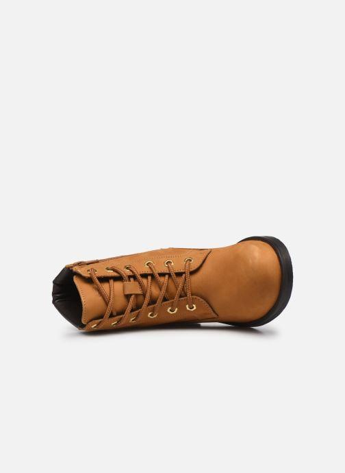 Bottines et boots Geox D Rawelle B D946RB Jaune vue gauche