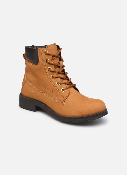 Bottines et boots Geox D Rawelle B D946RB Jaune vue détail/paire