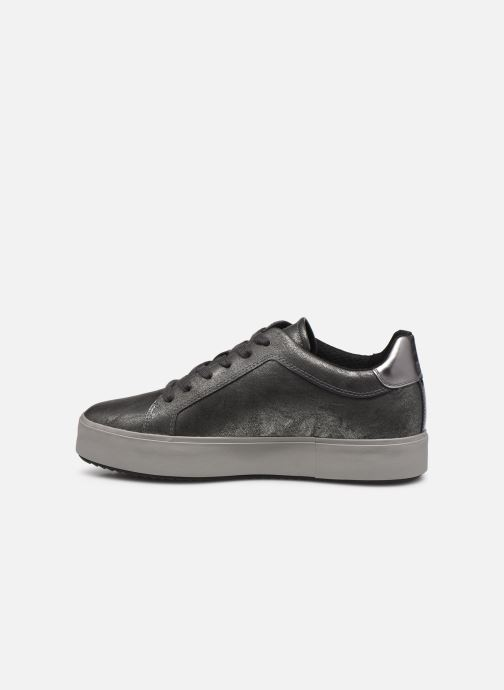 Sneakers Geox D Blomiee High B D94DZB Argento immagine frontale