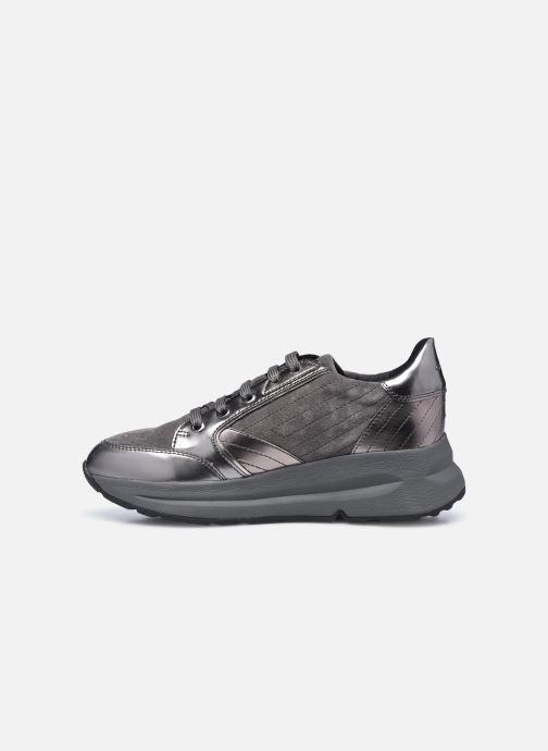 Sneakers Geox D Backsie A D94FLA Grigio immagine frontale