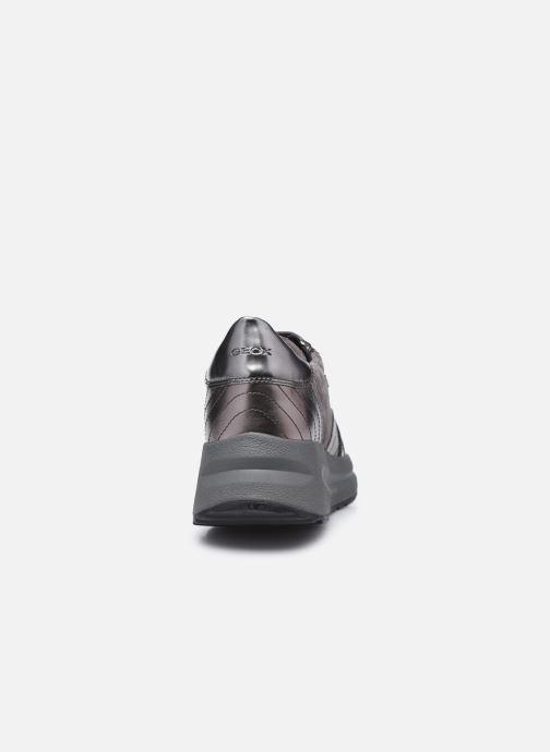 Sneakers Geox D Backsie A D94FLA Grigio immagine destra