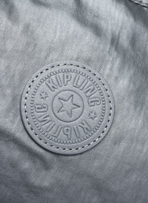Bolsos de mano Kipling New Shopper S Plateado vista lateral izquierda