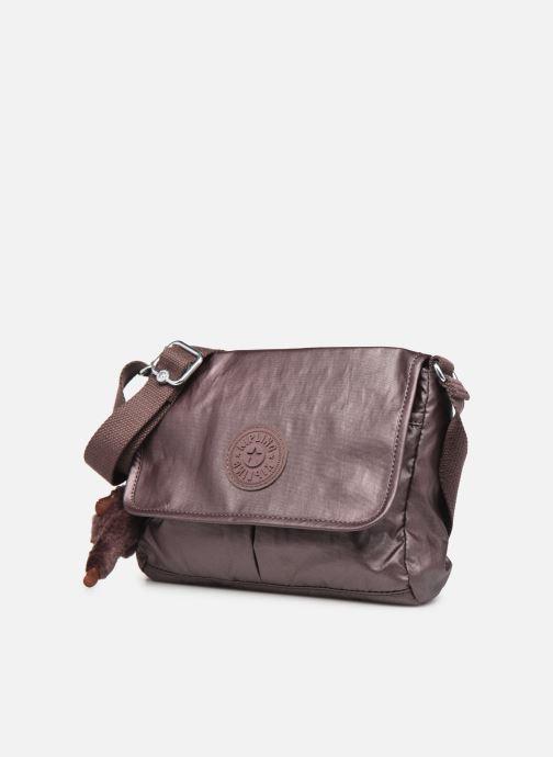 Handtaschen Kipling Shayna weinrot schuhe getragen