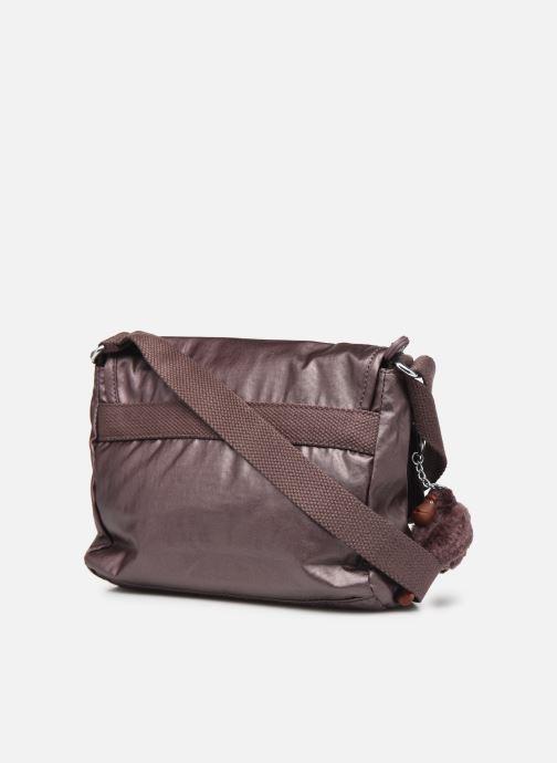 Handtaschen Kipling Shayna weinrot ansicht von rechts