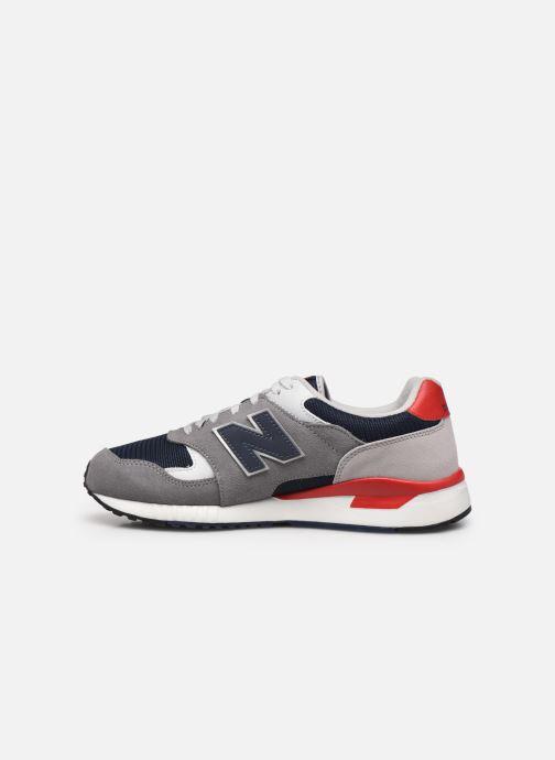 Sneaker New Balance ML570 D grau ansicht von vorne