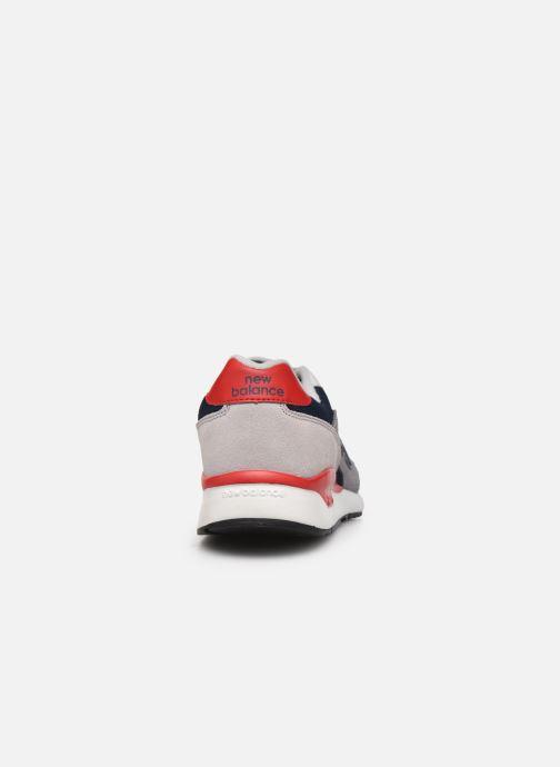 Sneaker New Balance ML570 D grau ansicht von rechts