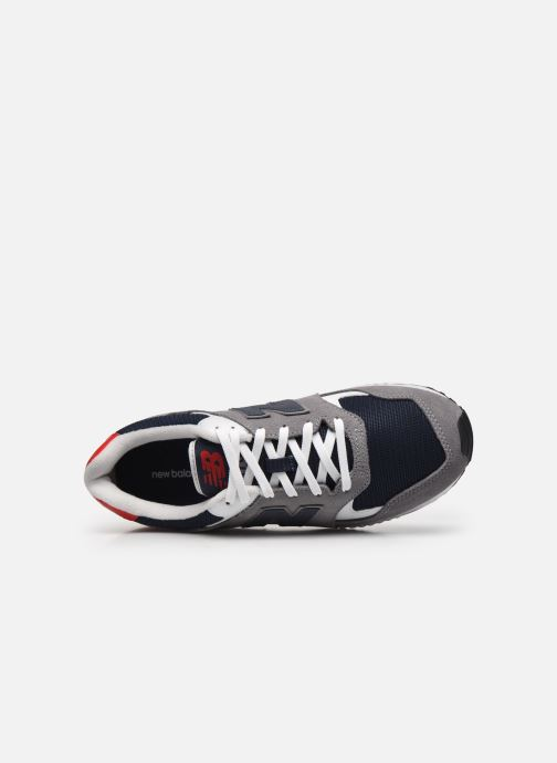 Sneaker New Balance ML570 D grau ansicht von links